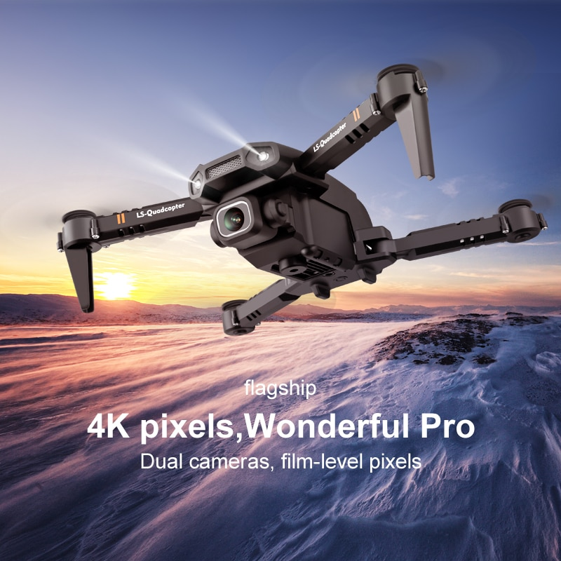 RC Quadcopter Mini Drone XT6 With 4K Fpv Camera