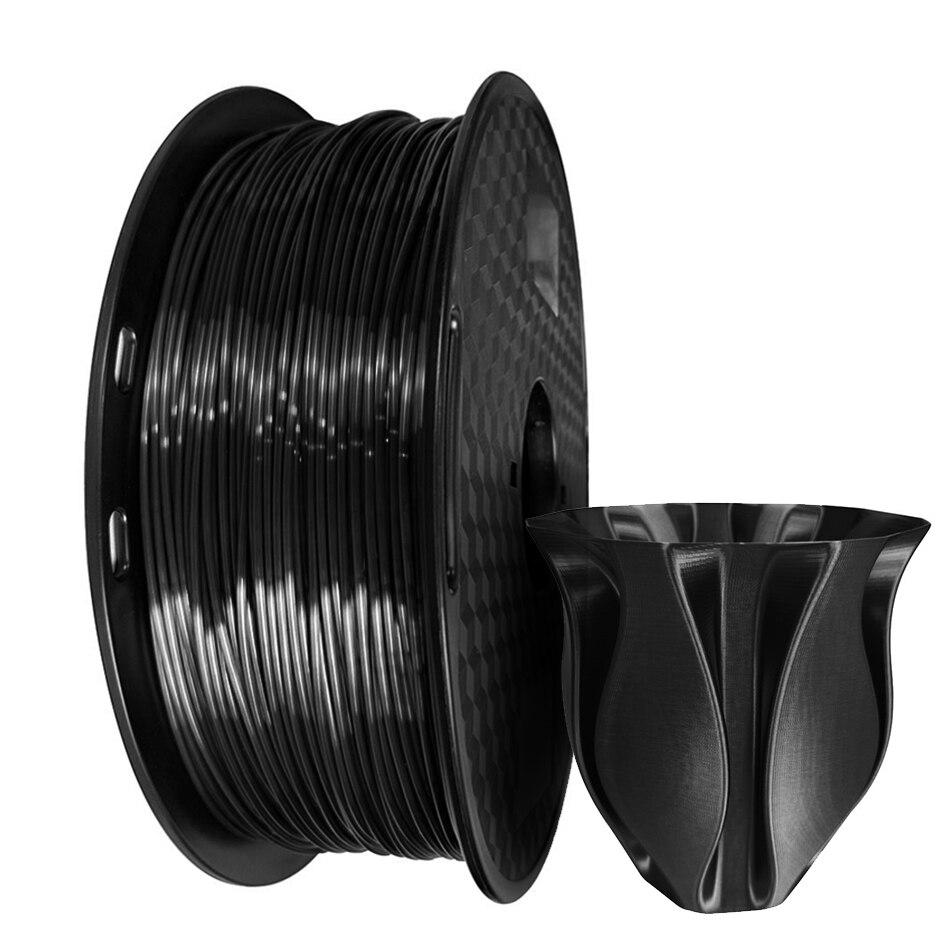 Silk 3D Printer Pla Filament 1.75mm With 19 Colors