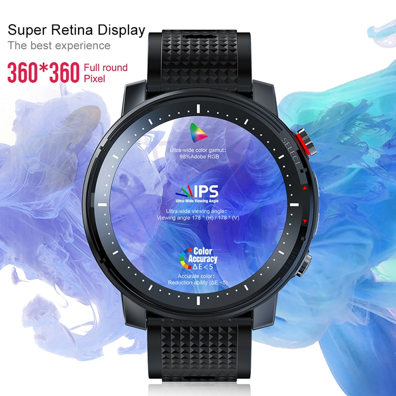 Full touch Waterproof Heart Rate Monitor Smart Watch