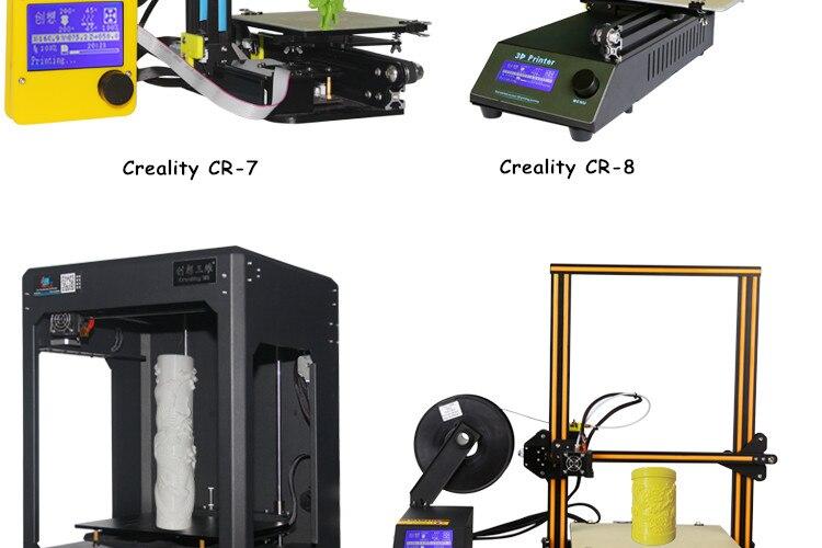 5 Colors Optional Ender 3D PLA Printer Filament 1.75mm 1kg/Roll