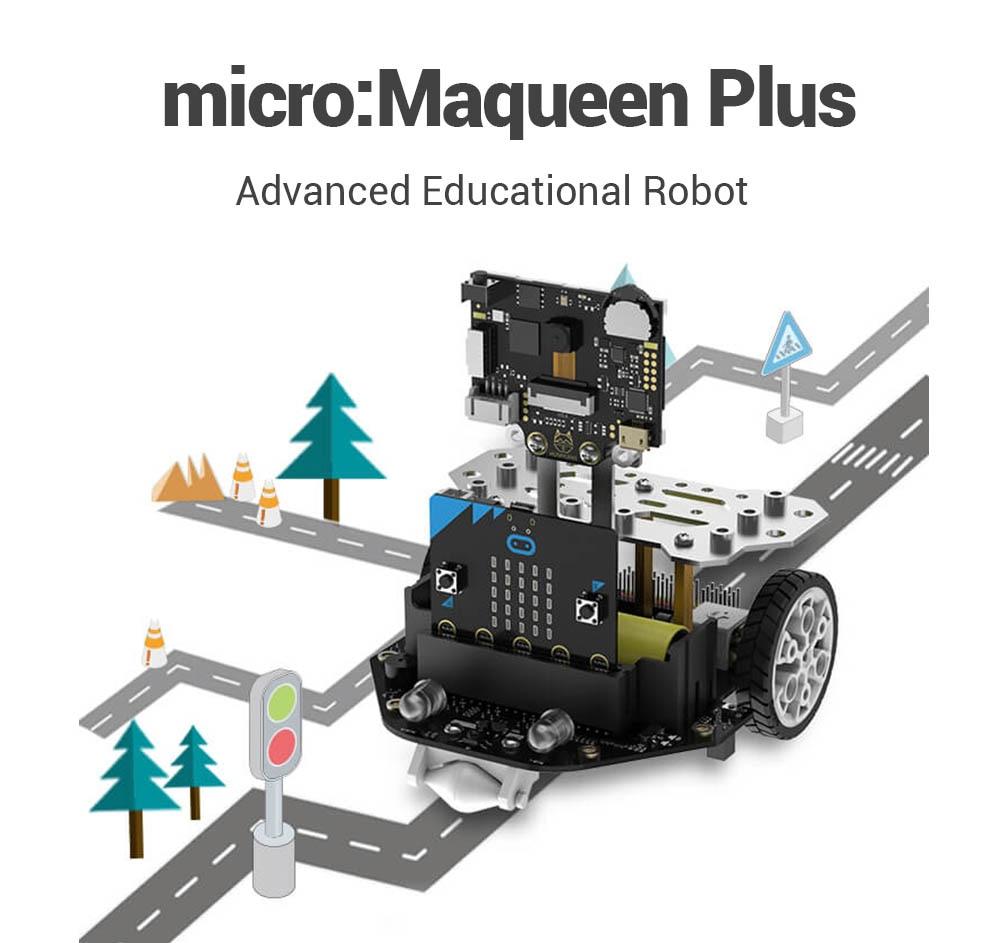 DFRobot micro:Maqueen Plus Advanced STEM Education Robot