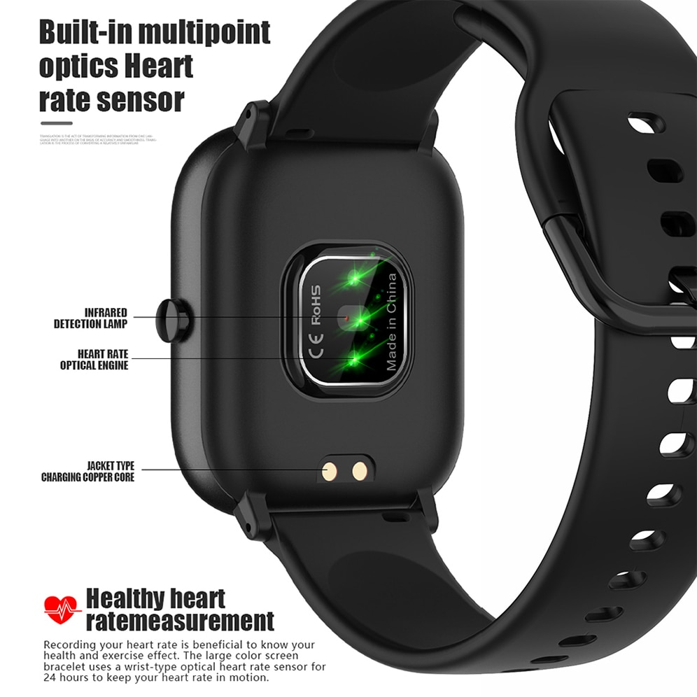 SITLOS P8 SE 1.4 Inch Smartwatch For All Lifestyle
