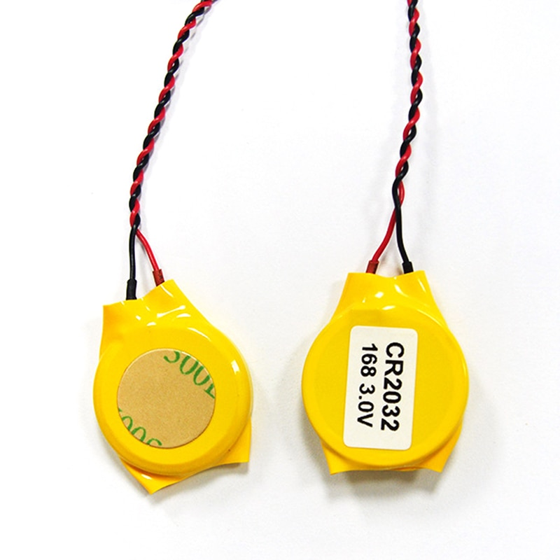 02 pcs CR2032 batteries with wires & 2pin