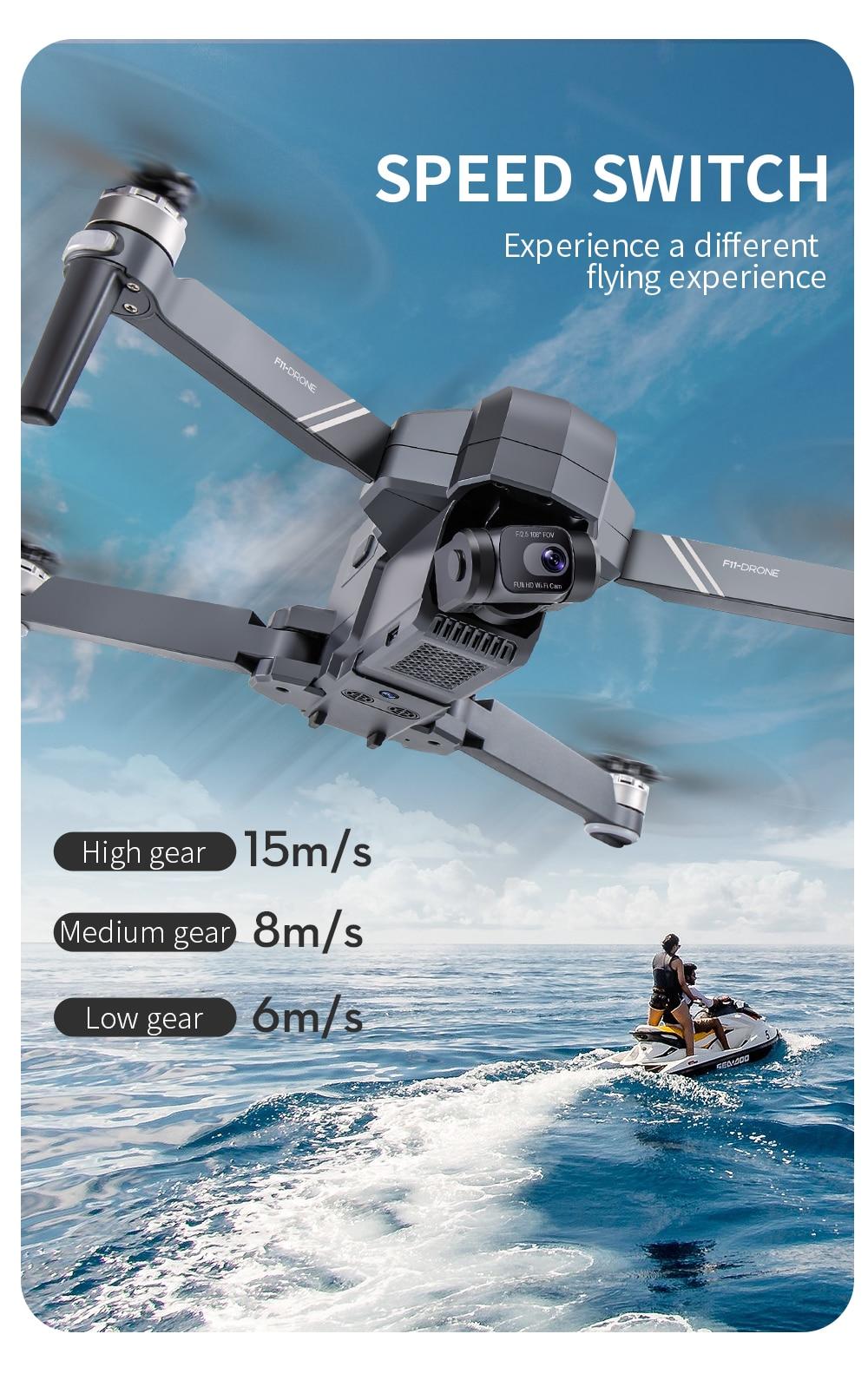 F11 PTZ PRO 4K Camera RC Quadcopter Drone