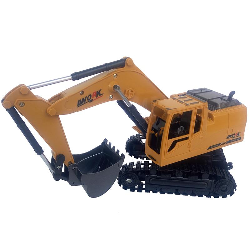 8CH RC excavator Simulation Engineering Beach Tractor