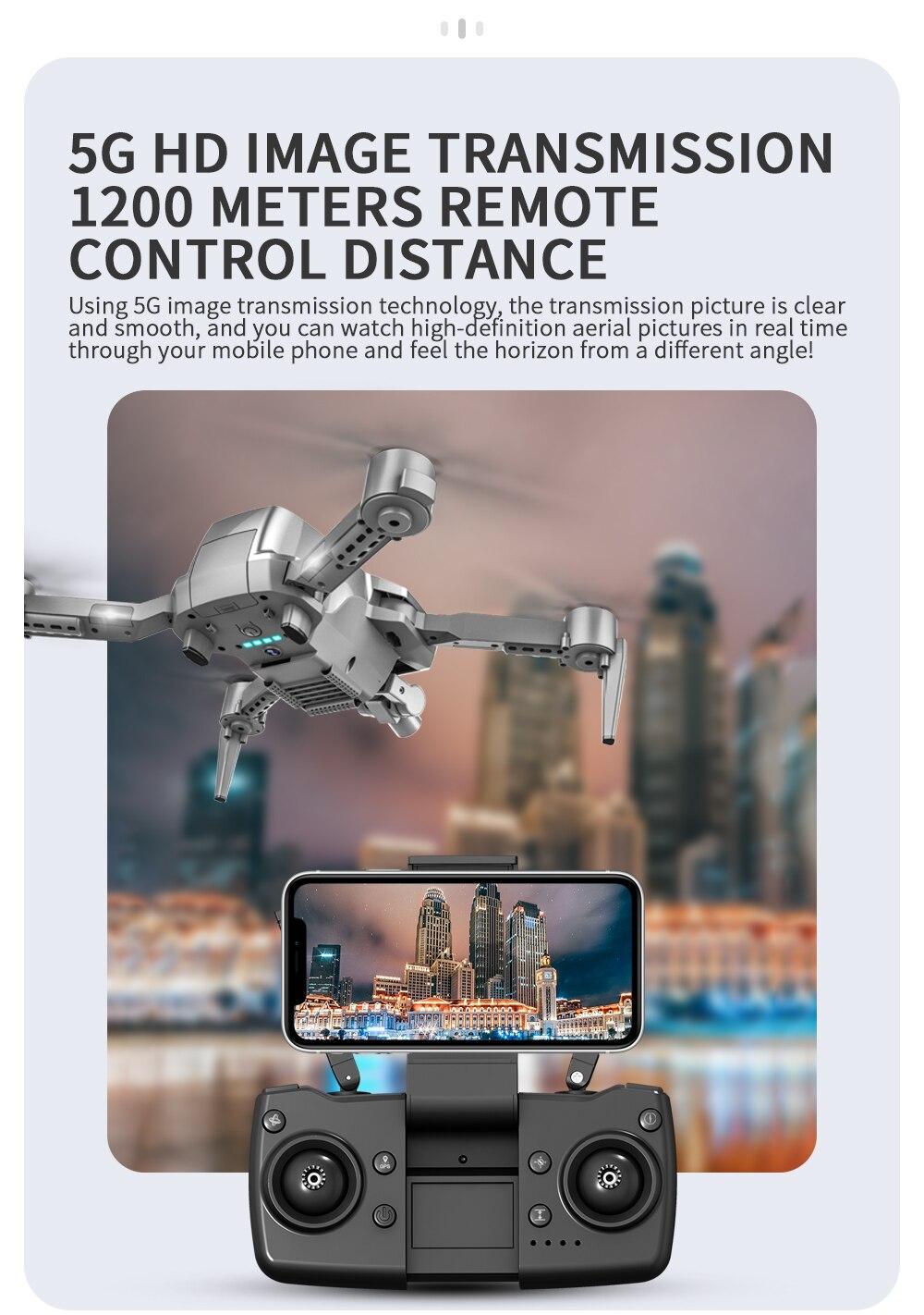 L106Pro GPS RC Drone Fpv 4K HD Dual Camera