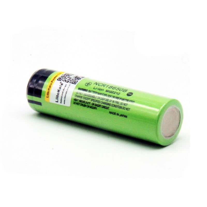 Liitokala NCR18650B 3.7 v 3400 mah Lithium Rechargeable Battery
