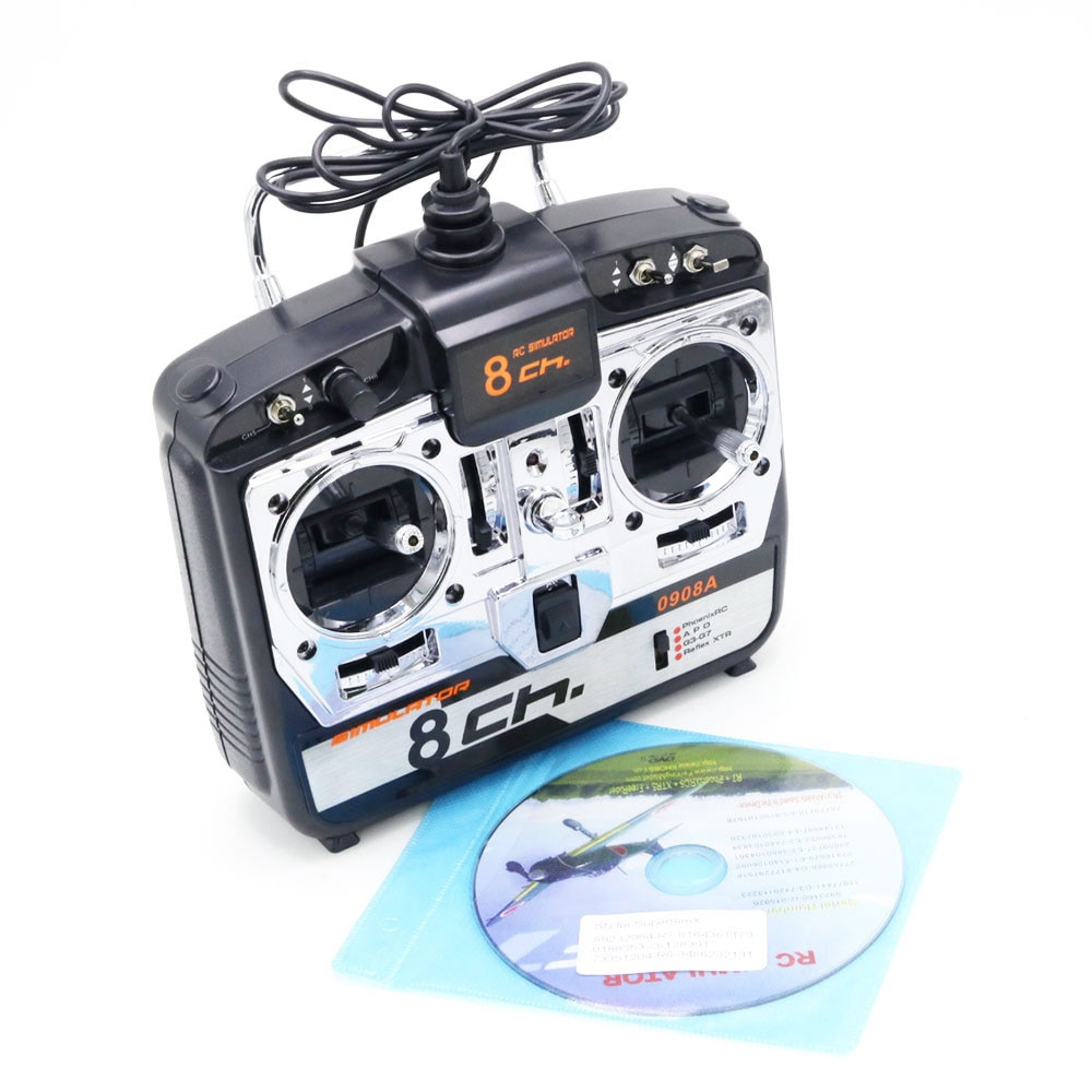 Phoenix 5.0 XTR JTL-0908A 8CH RC Flight Simulator Remote Control