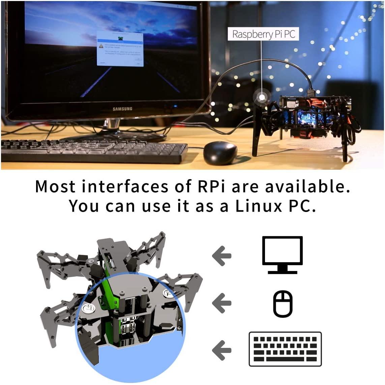 Adeept DarkPaw Bionic Quadruped Spider Robot Kit