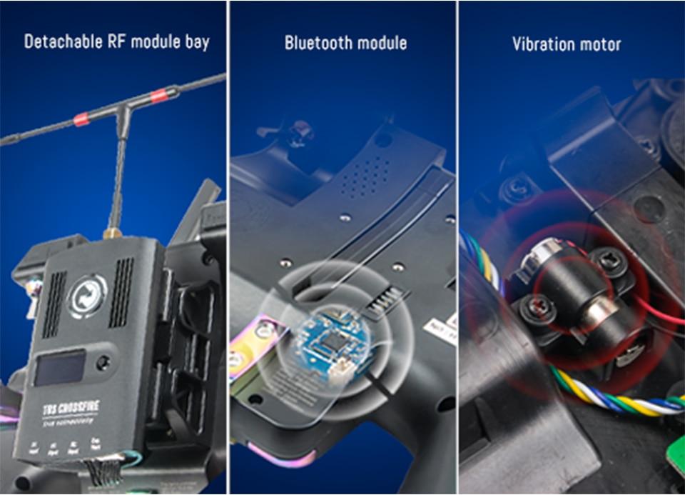 Nirvana Flysky FS-NV14 2.4G 14CH Radio Transmitter with 3.5 Inch Display