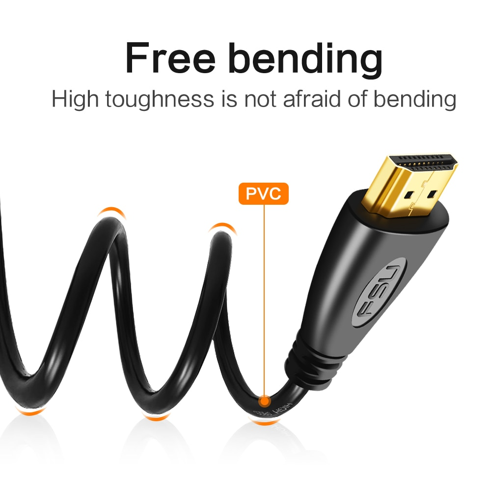 HDMI-compatible Video Cable from 0.5m to 20m