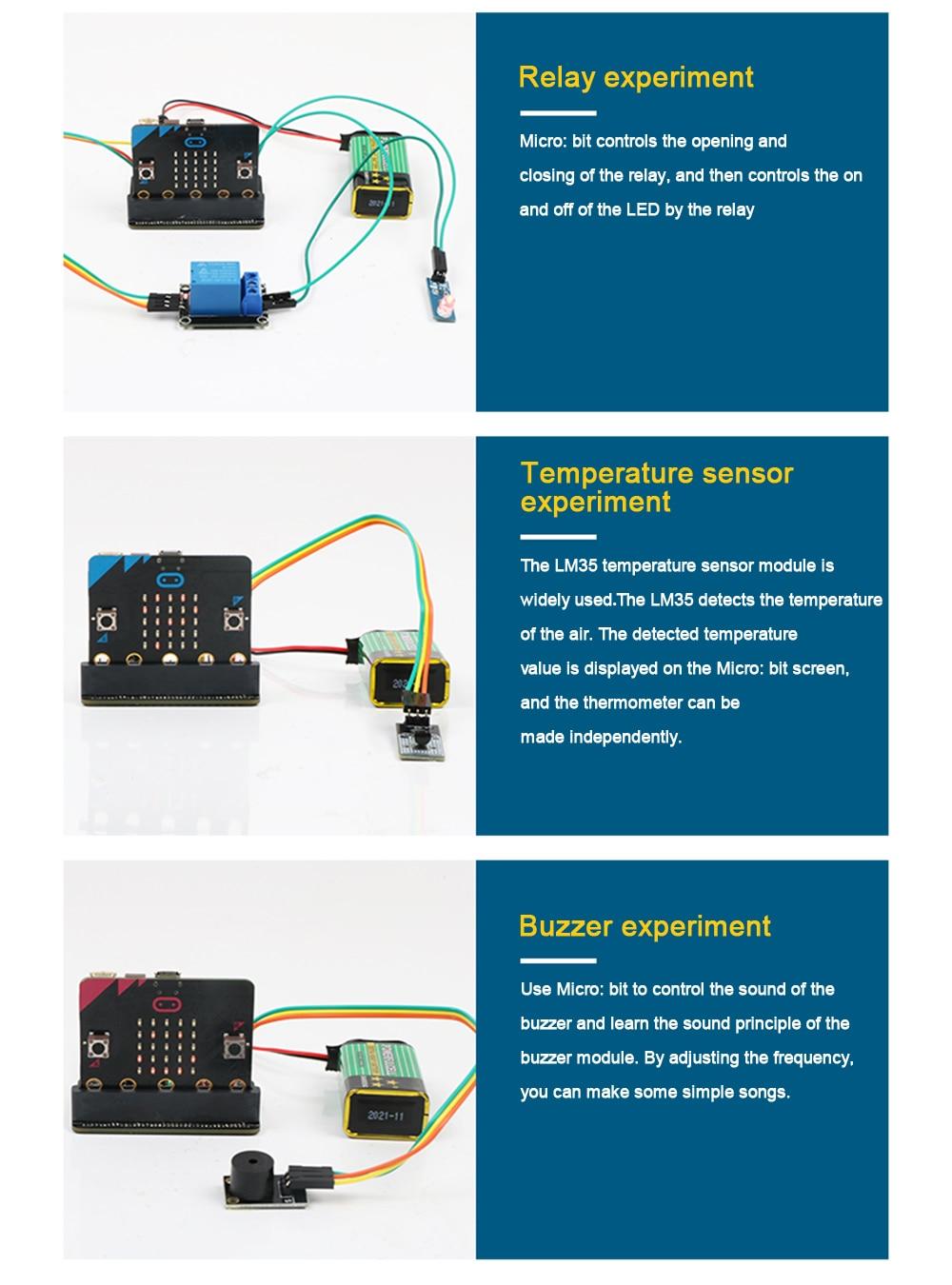 All In One Keywish Starter Diy Kit for Micro:Bit