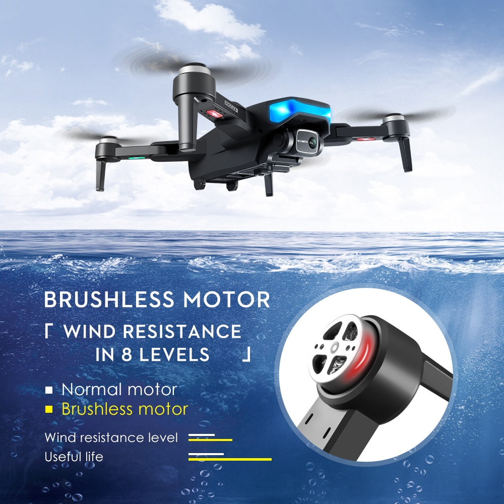 LS38 Professional Aerial Photography GPS FPV Quadcopter Drone