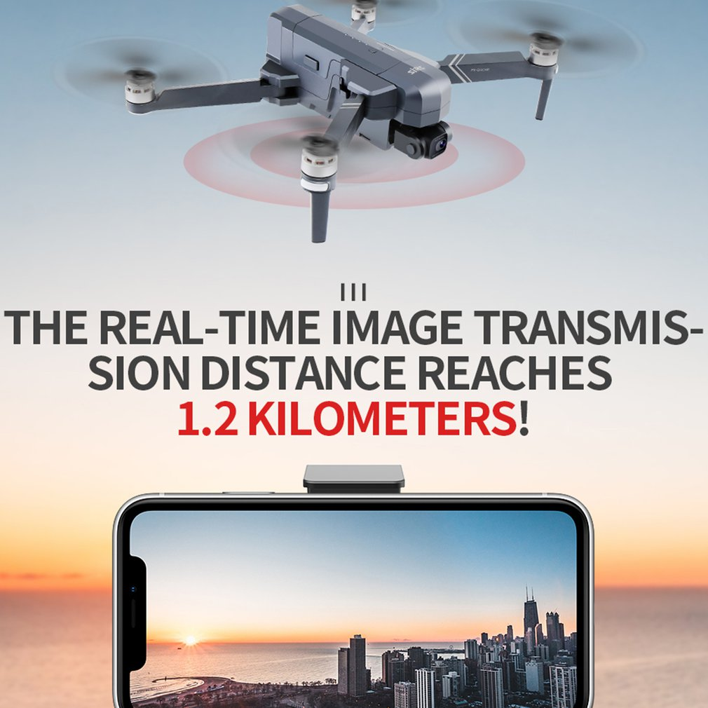 F11 4K PRO Anti-Shake Quadcopter Drone With Wifi