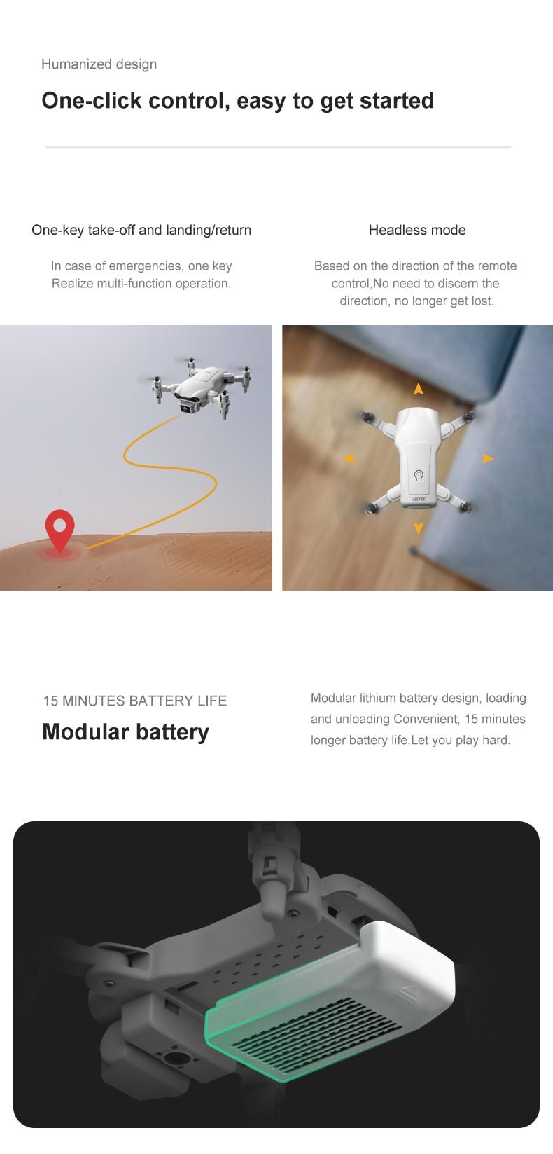 V9 New 4k profession HD Wide Angle Camera Mini Drone