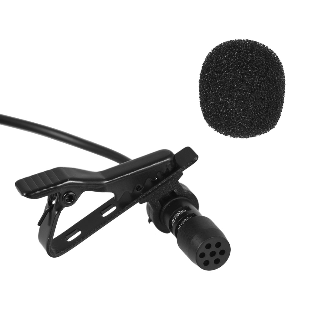 Andoer EY-510A Mini Portable Clip-on Condenser Wired Microphone