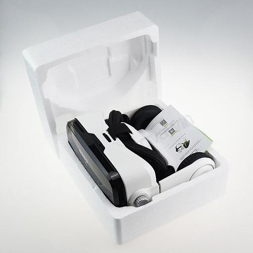 BOBO VR Z4 Leather 3D Cardboard Helmet Glasses Stereo Headset