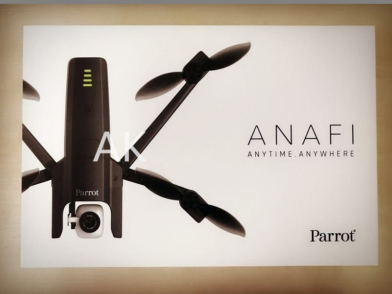 Parrot ANAFI 4K HDR GPS Drone