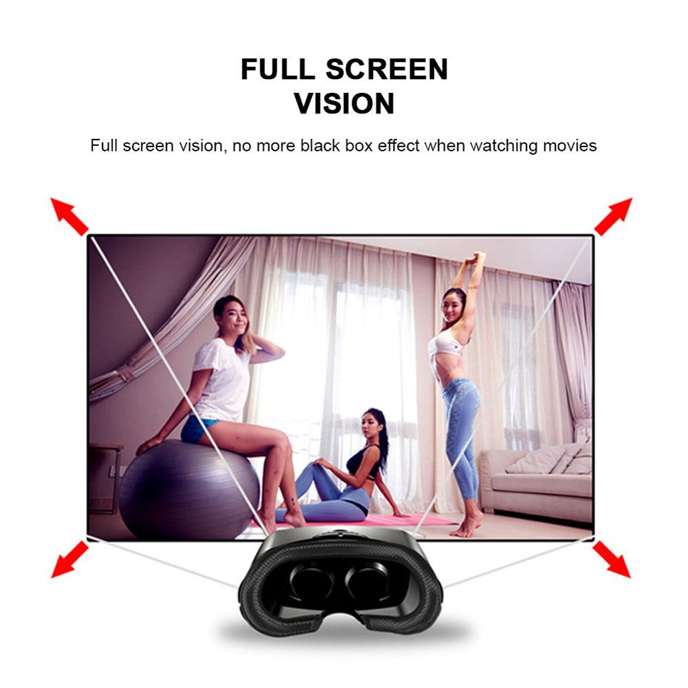 Virtual Reality 3D VR Headset Smart Glasses Helmet for Smartphones