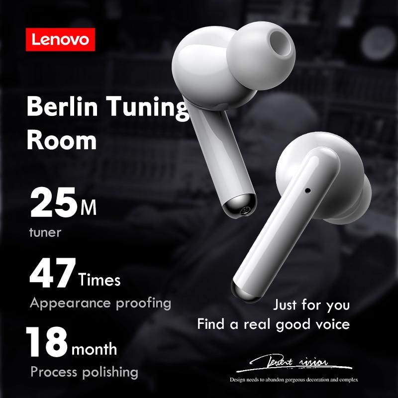 Lenovo LP1 Wireless HIFI Stereo Sound Earphones with Mic