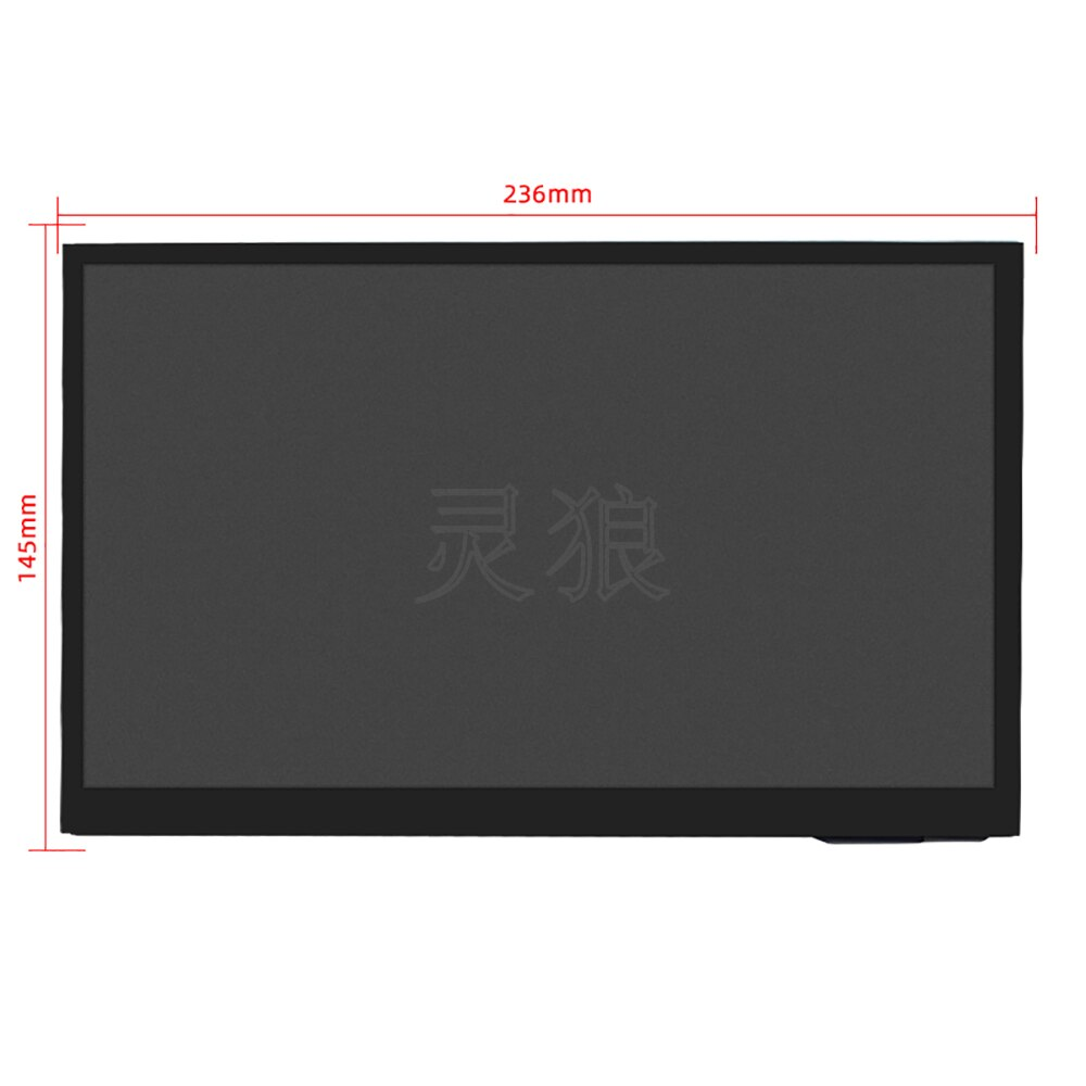 10.1 inch Raspberry Pi Touch Screen IPS Capacitive 1024x600 LCD Display