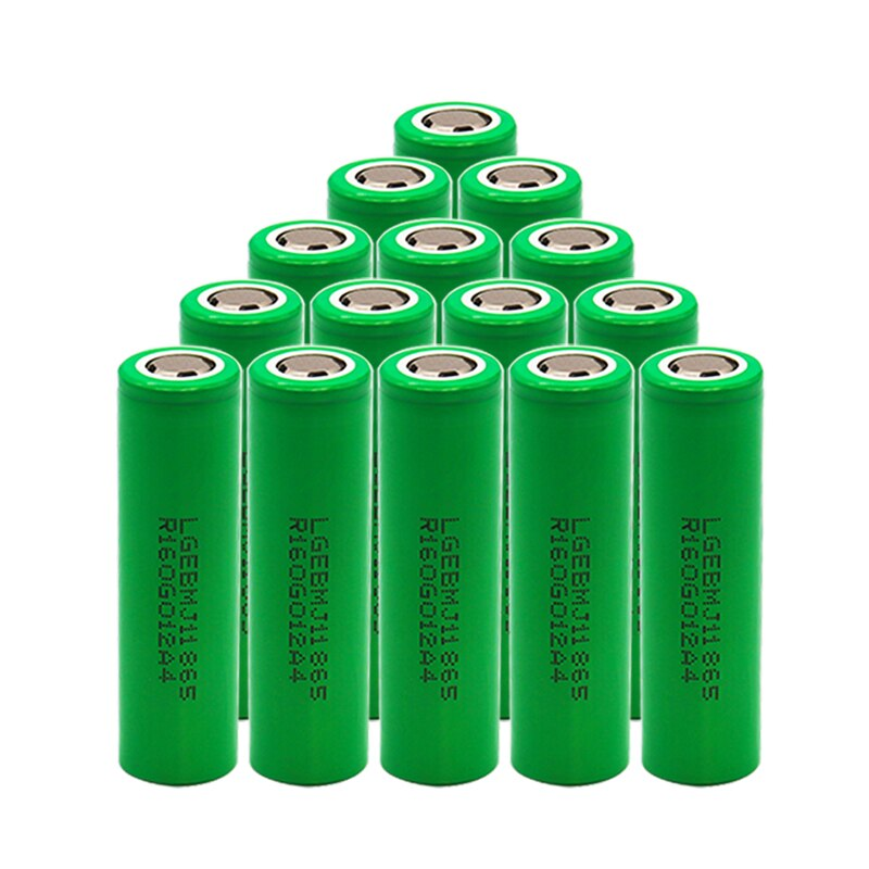 Lithium Rechargeable Battery MJ1 3.7V 3500 mah 18650