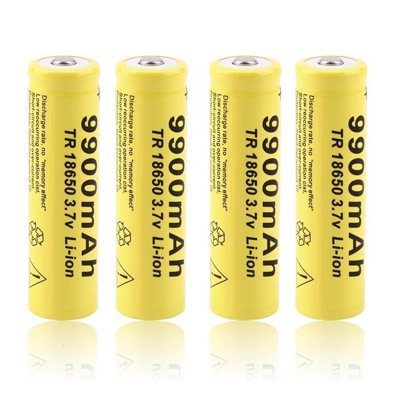 3.7V 9900mah GTF 18650 li-ion Rechargeable Battery
