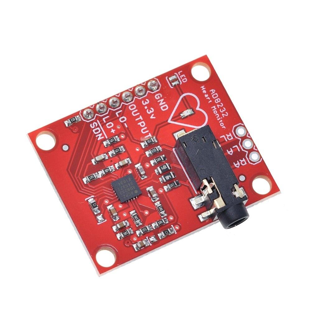 AD8232 ECG module measurement pulse heart sensor