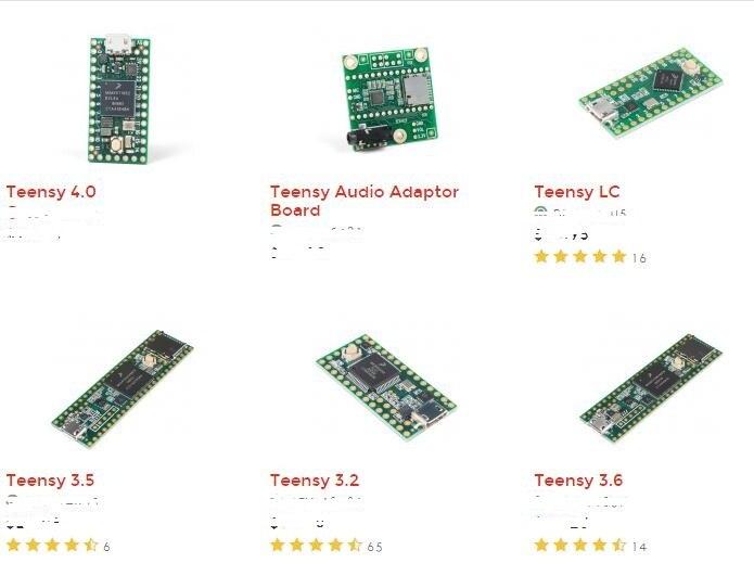 PJRC Teensy 4.0 and All Generations USB Development Board