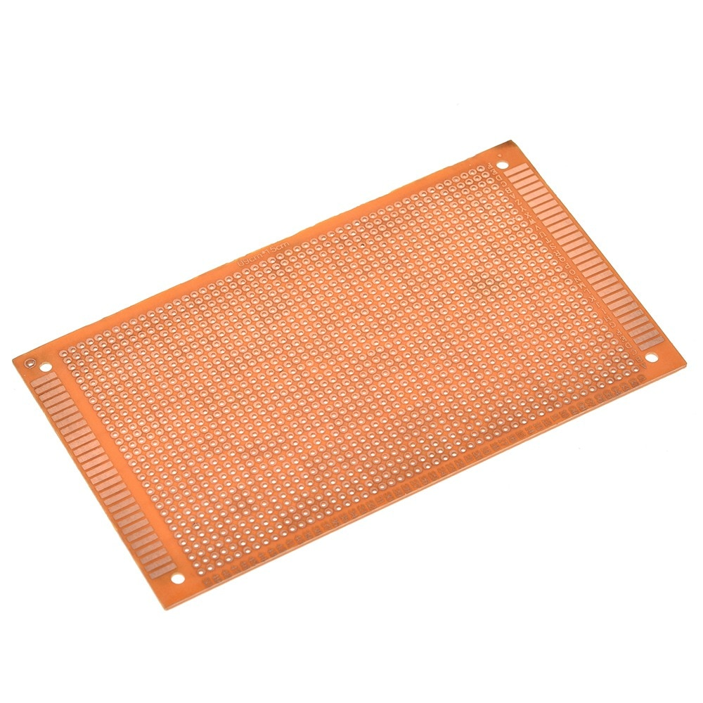 5 pcs of 9x15 cm Single Side Golden Prototype Universal Experimental PCB Board