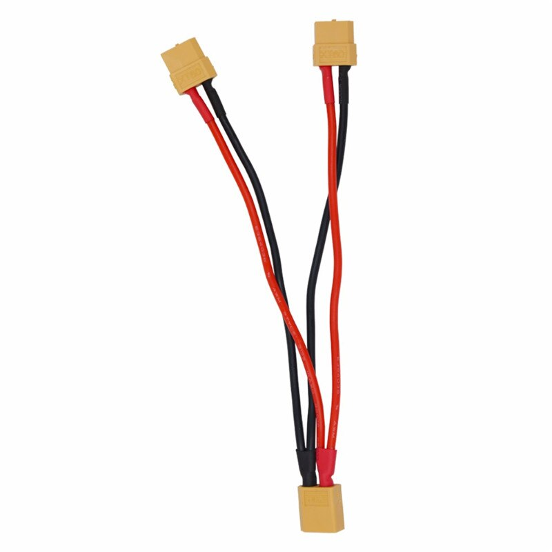 XT60 Dual Extension Y Splitter 16AWG 15cm Silicone Wire