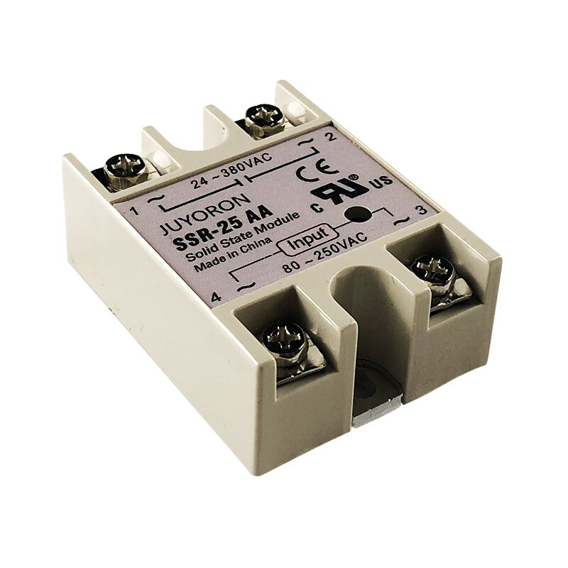 Solid State Relay SSR-10 to 40AA 10A to 40A Module Input 70-280VAC Output 24-380V