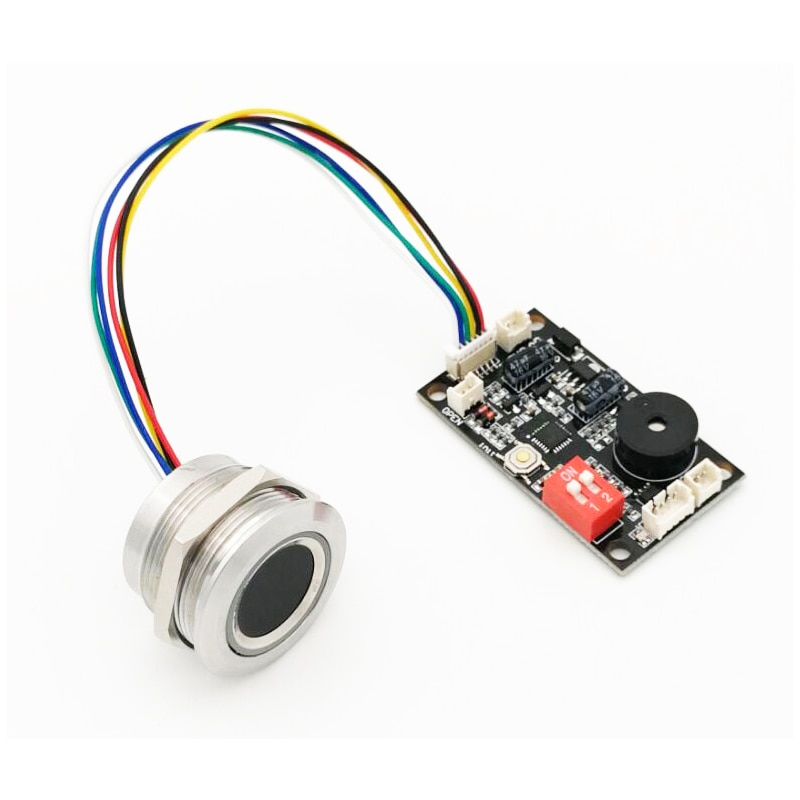 R503 New Two-color Ring Indicator Light LED Control Round Fingerprint Module
