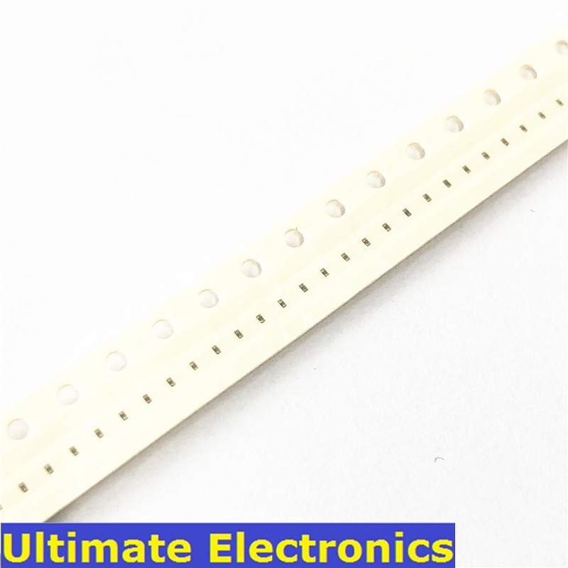 100Pcs 0201 SMD Chip Multilayer Ceramic Capacitor 0.5pF~220nF 10pF 100pF 220pF 1nF 10nF 15nF 100nF 220nF MLCC Chip Capacitor