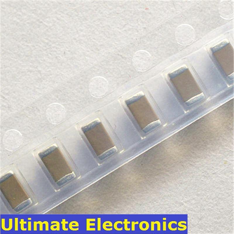 100Pcs 1206 SMD Chip Multilayer Ceramic Capacitors