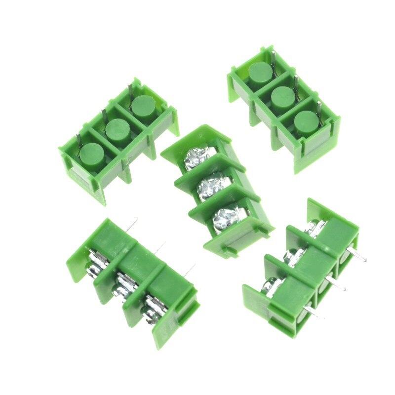 20PCS KF7.62 3Pin 7.62mm ROHS pitch PCB screw block Splice connector terminal