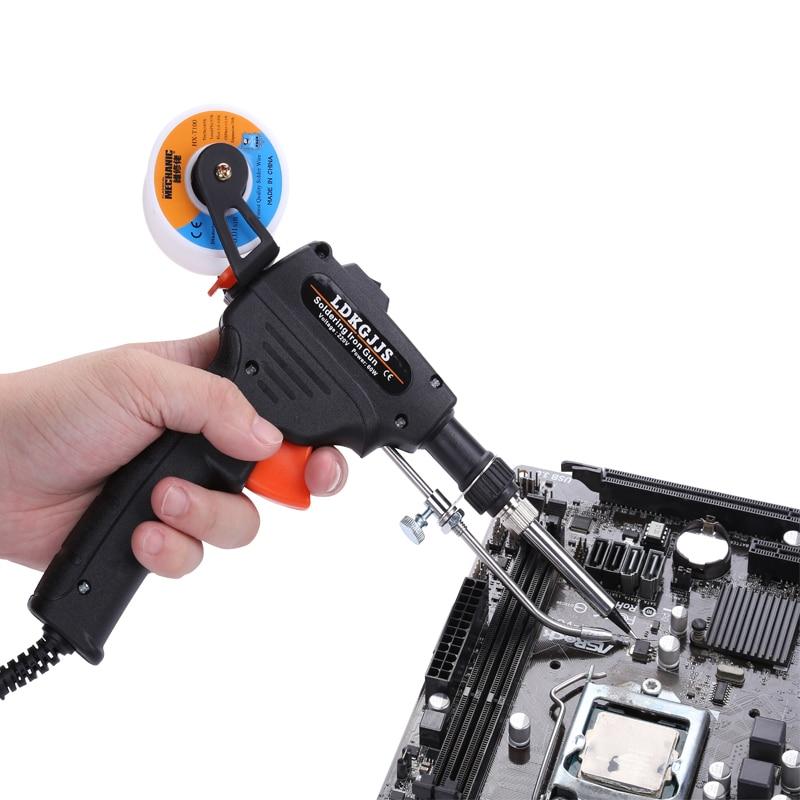 Hand-held Gun Soldering Iron Automatic Send Tin 110V/220V 60w