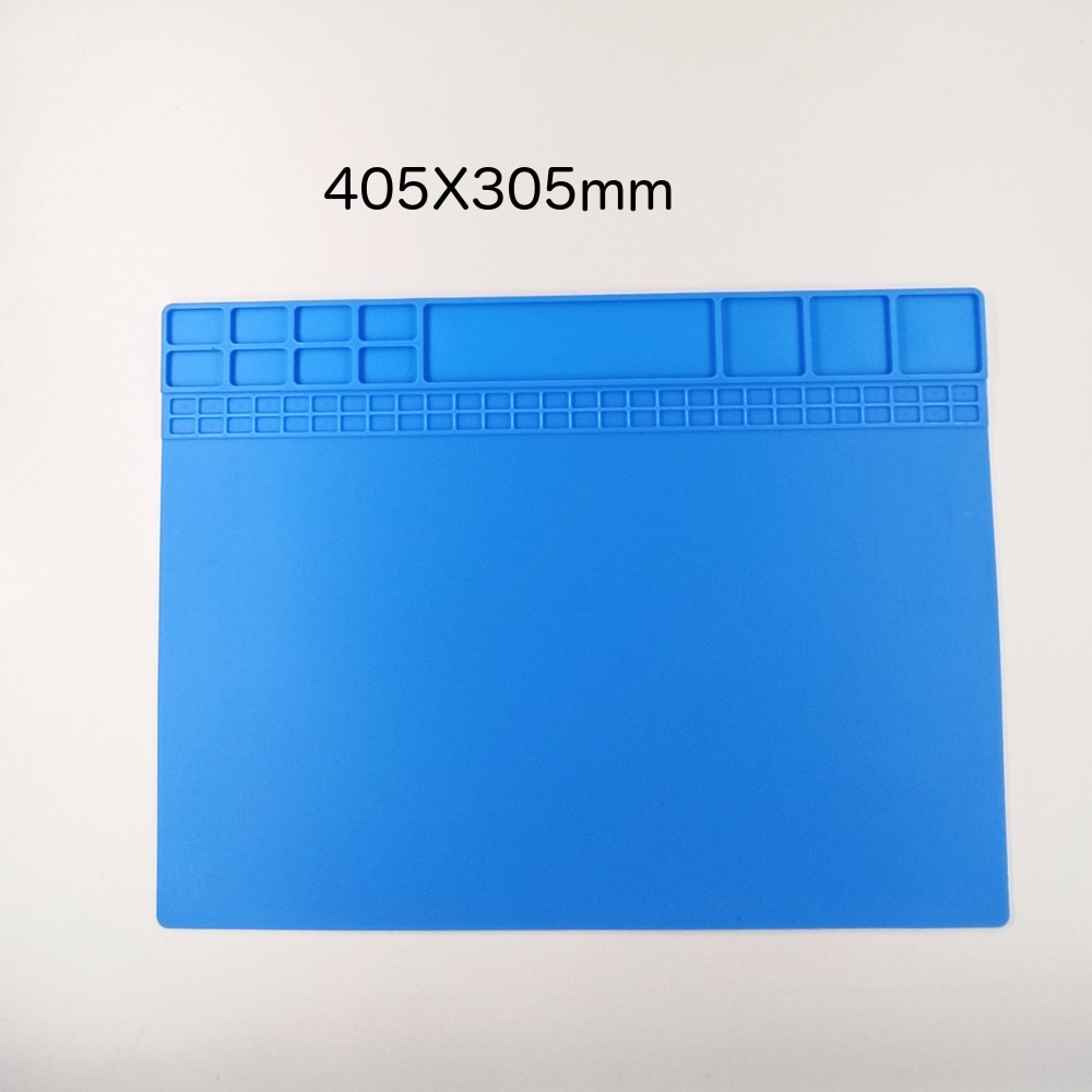 ESPLB 405X305mm Heat Insulation Soldering Work Station Repair Pad Mat Silicon Maintenance Platform