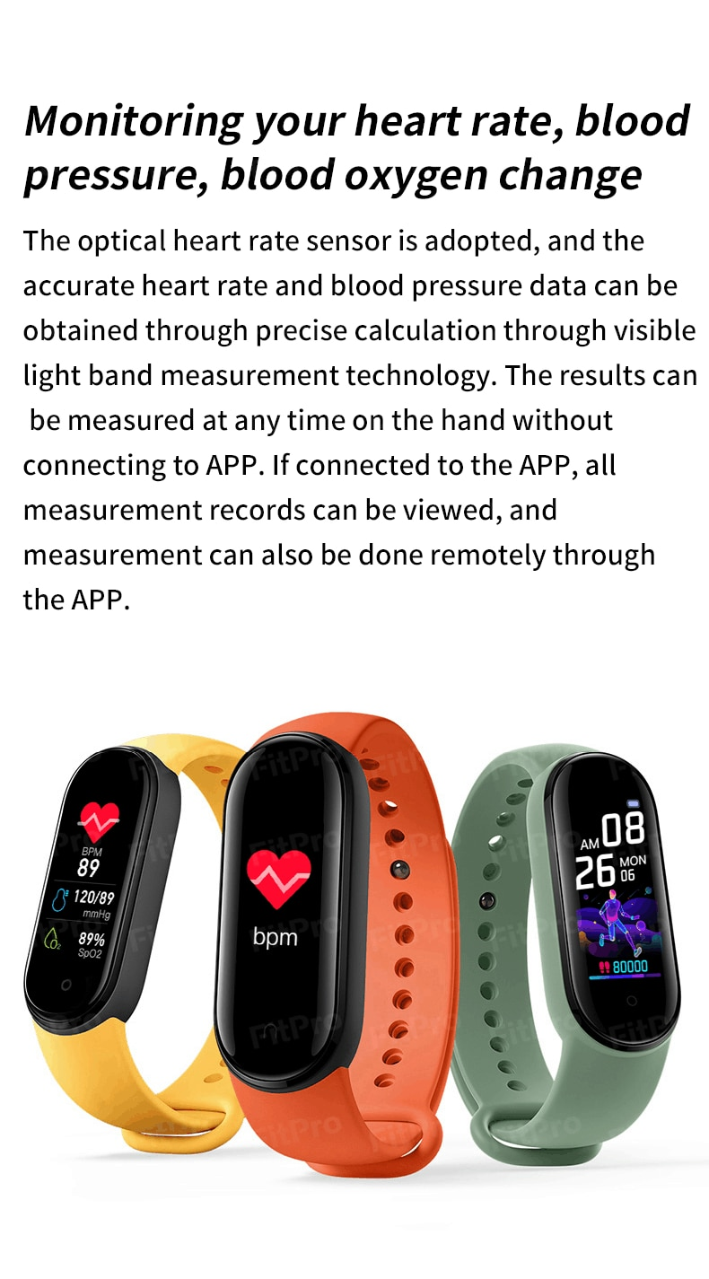 M5 Smartwatch With Full Sensors