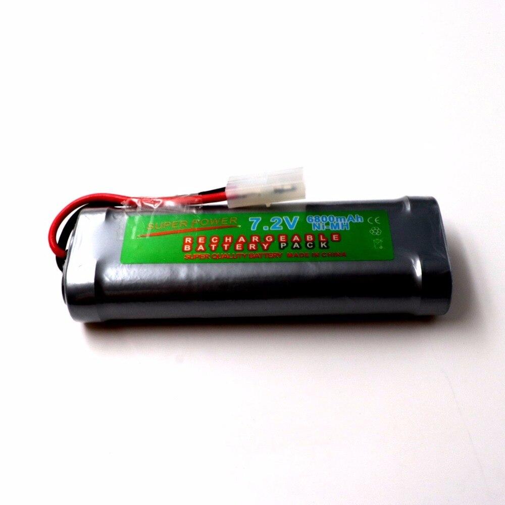 6800mAh 7.2v NiMh RC Toy Battery With Tamiya Connectors