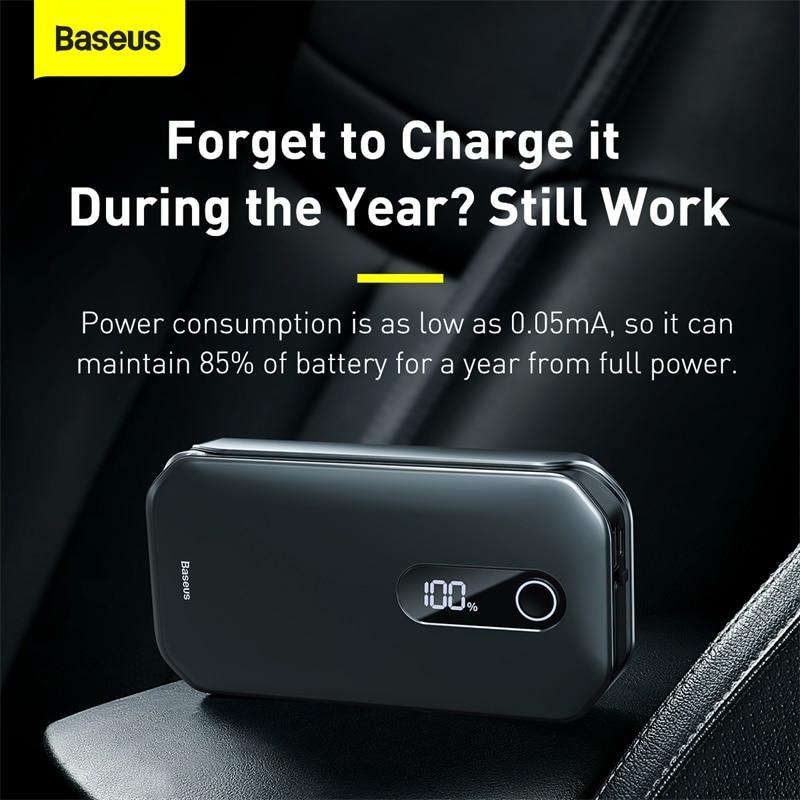 Portable Car Power Bank Jump Starter 1000A Peak Current
