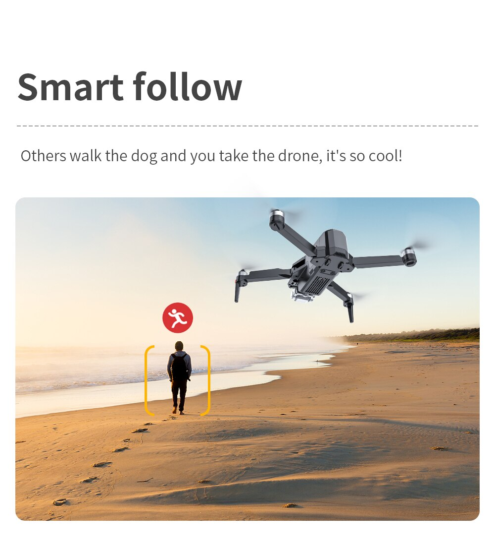 XKJ Professional GPS Drone 8K HD Photography Camera 3-Axis Gimbal Aerial Brushless Foldable Quadcopter