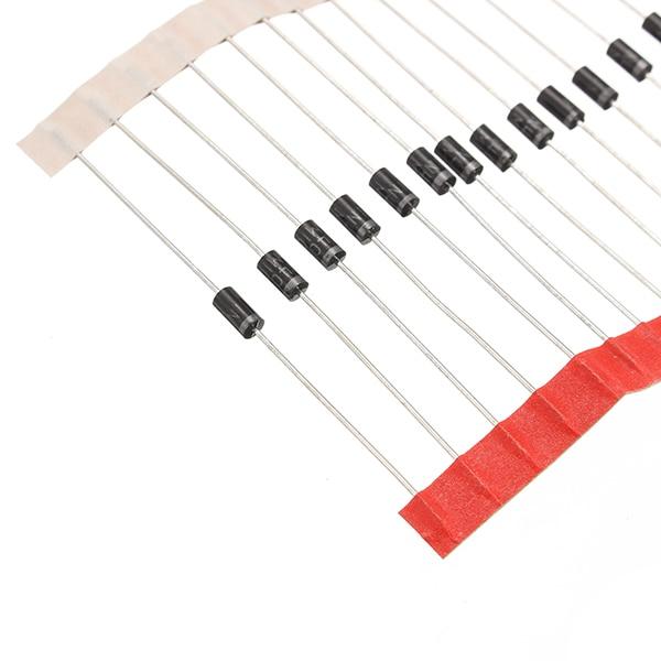 100pcs IN4007 1N4007 DIP Rectifier Diodes