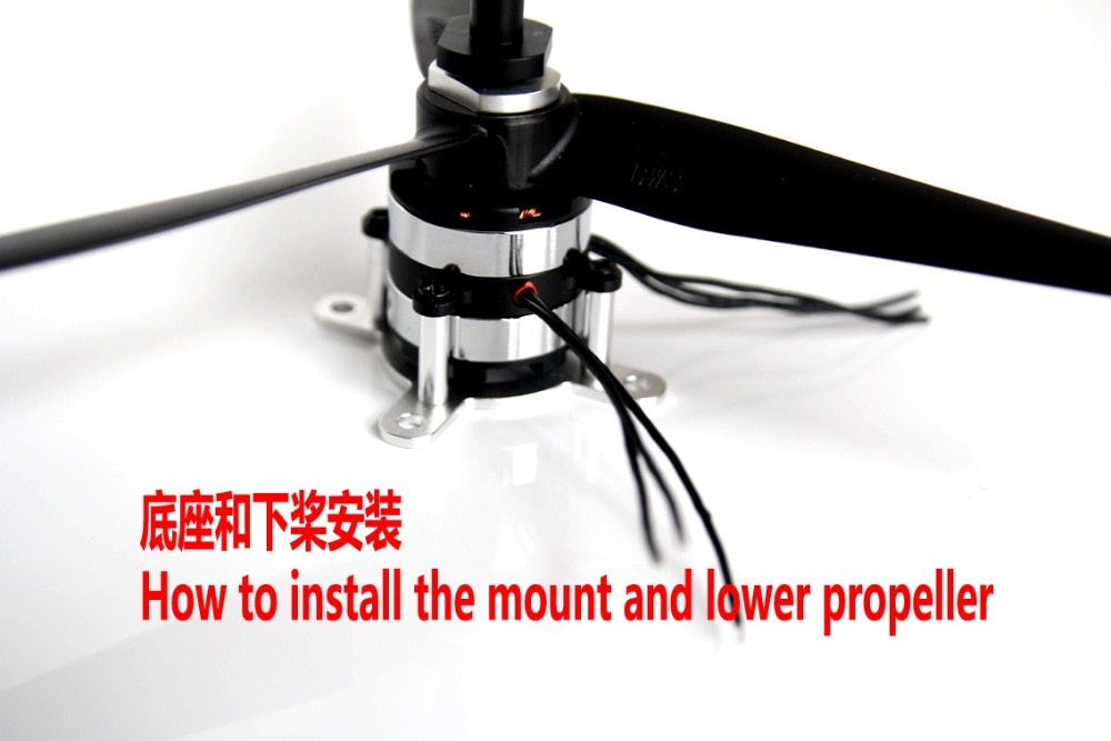 DZP30 Contra-Rotating Brushless Dual Motor For Flight