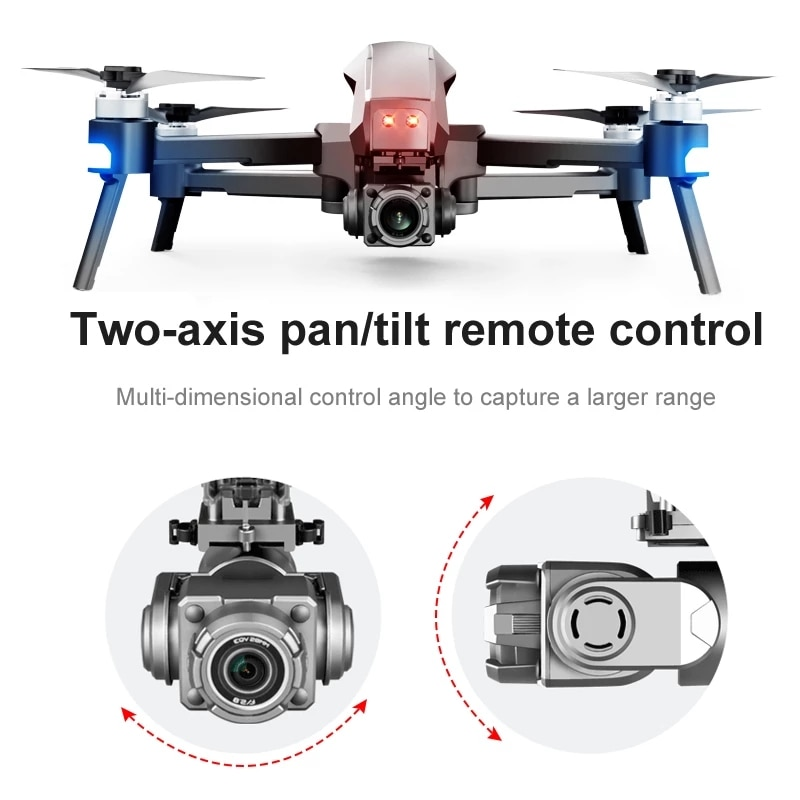 Large Size Professional Self Stabilization Foldable Quadcopter FPV Drone