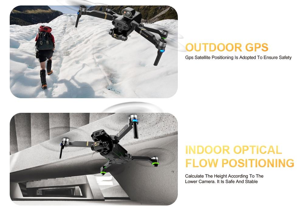 KAI ONE MAX Professional Radar 4K/8K HD Dual Camera RC Foldable Quadcopter