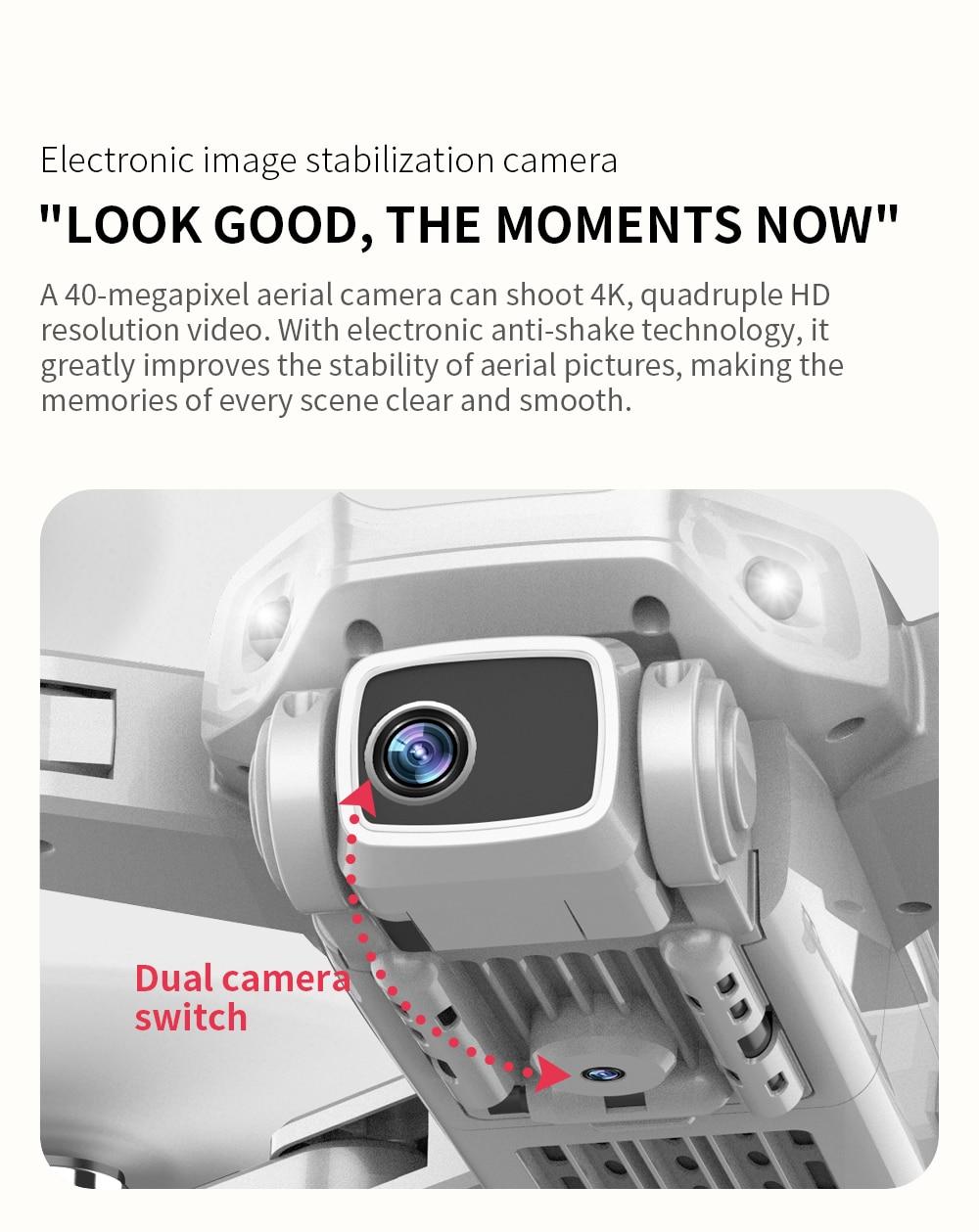 L900 Pro 4K HD Dual Camera Professional FPV Quadcopter