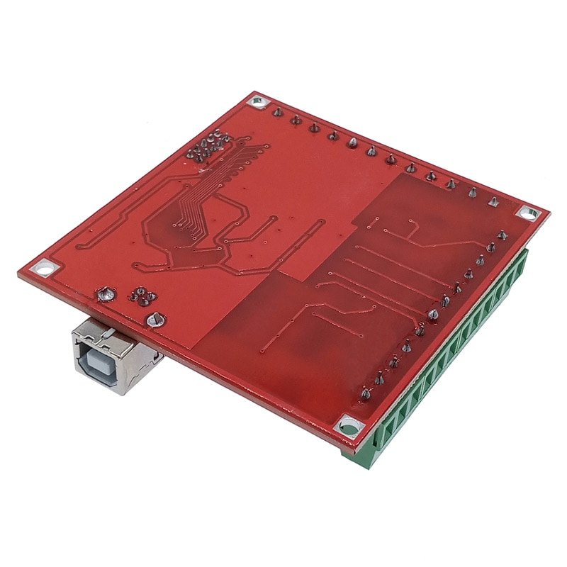 CNC USB MACH3 100Khz 4 axis Breakout board